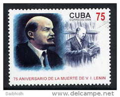 CUBA 1989 Lenin Death Anniversary  MNH / **. - Unused Stamps