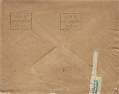 1915- Enveloppe De Paris  Pour Hellemmes ( Nord ) Au Dos,  Flamme Répétitive  LIEU De DESTINATION ENVAHI - Marcofilia (sobres)