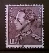BELGIO 1936 RE LEOPOLDO III PROFILO A SINISTRA 10F