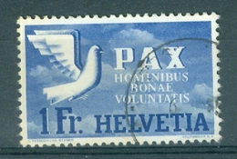 HELVETIA - Mi Nr 455 - PAX - Gest./obl. - Cote 120,00 € - Suisse