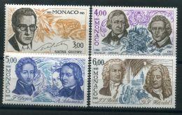 MONACO (  POSTE  ) : Y&T  N°  1501/1504  TIMBRES   NEUFS   SANS  TRACE  DE  CHARNIERE , A  VOIR . - Monaco