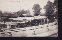 REIMS CANAL BATEAU VAPEUR - Non Classificati