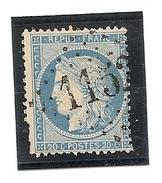 France Gros Chiffre 1152 , La Couarde 16 , Indice 10 - Marcofilia (Sellos Separados)