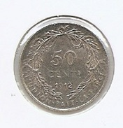 ALBERT I * 50 Cent 1912 Frans * F D  C * Nr 8573 - 1909-1934: Albert I