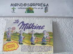 MONDOSORPRESA,CARTINA, MILKA, MILKINE - Istruzioni