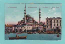 Old Postcard Of Mosquee Valide,Constantinople, Istanbul, Turkey,Q75. - Turkey