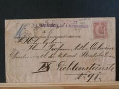 68/383   BRIEF PNEUM.  AUTRICHE - Stamped Stationery