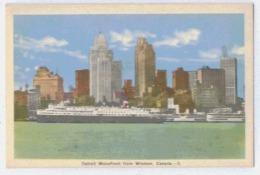 WINDSOR Detroit Waterfront From Windsor - Windsor