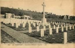 76 - 230417 - LE TREPORT - Cimetière Militaire Anglais - Le Treport