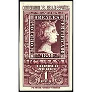 ES1079STV-LFT***1079STCFR.España.Spain. CENTENARIO DEL 1º SELLO ESPAÑOL.Isabel Ll .1950. (Ed 1079**) Sin Charnela - Familias Reales