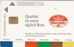 Dutch / German Cooperative Cards, CXD 243, Wendeln - Qualität Ist Unser Täglich Brot,  Only 10.000, 2 Scans.