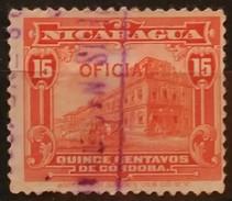 NICARAGUA. OFICIAL. USADO - USED - Nicaragua