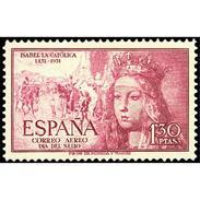ES1099STV-LFT***1099STAN.España.Spain.Espagne.REINA ISABEL  LA CATOLICA.1951( Ed 1099**) Sin Charnela. - 1951-60 Nuevos & Fijasellos