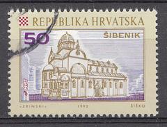 Croatie 1992 Mi.nr.: 196 Kroatische Städte  Oblitéré-Used-Gestempeld