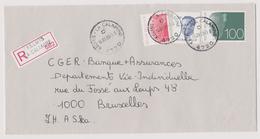 Enveloppe Cover Brief Aangetekend Registered Recommandé Kelmis La Calamine - Briefe U. Dokumente