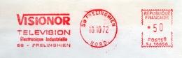 """Electronique, Industrie, Télé, """"Visionor"""", Nord, Frelinghen - EMA Satas SJ - - Enveloppe Entière,  (S040) - Television"""