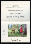 CALENDRIER DE POCHE 2010  - YVES DUCOURTIOUX - LE SAVANE PRESSE NIEUIL L'ESPOIR 86 - FORMAT: 15 X 10,5 Cm Plié - NEUF ! - Tamaño Pequeño : 2001-...
