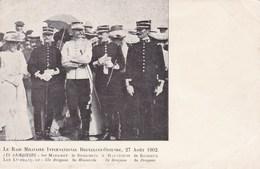Le Raid Militaire International Bruxelles Ostende, 27 Aoüt 1902 (pk34456) - Manovre