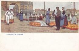 Kaasmarkt Te Alkmaar, Uitgeverij W De Haan, Utrecht (pk34461) - Alkmaar