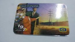 Costa Rica-servicio Colibri197-(prepiad Card 17)-(c300)-9/2001-used Card - Costa Rica