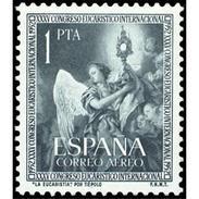 ES1117STV-LFT***1117STAN.España.Spain.Espagne.Religio.CONGRESO EUCARISTICO INTERNACIONAL.1952( Ed 1117**) Sin Charnela. - 1951-60 Nuevos & Fijasellos