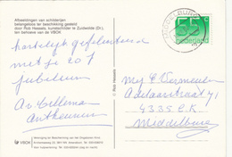 Ansicht 14 Dec 1988 Middelburg (stempeltype CB) - Postal History