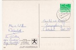 Ansicht 4 Jan 1991 Ede Gld (stempeltype CB) - Postal History