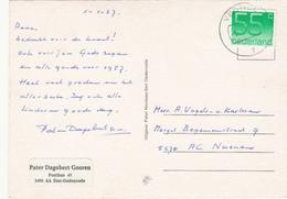 Ansicht 5 Jan 1987 Veghel (stempeltype CB) - Postal History