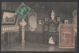 NANCY - LORRAINE / VIGNETTE DE L EXPOSITION 1909 SUR CARTE POSTALE (ref 4653) - Andere