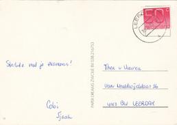 Ansicht 29 Apr 1985 Leerdam (stempeltype CB) - Postal History