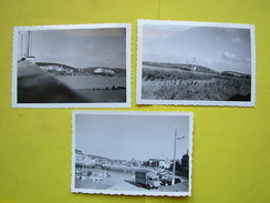 Fécamp, Tancarville , 3 Photos De 1959 - Lieux