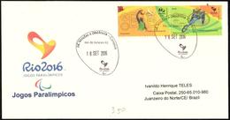 HANDISPORT - BRAZIL RIO DE JANEIRO 2016 - PARALYMPIC GAMES RIO DE JANEIRO 2016 - BASKETBALL / HANDBIKE - Handisport