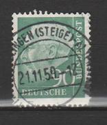 """ALLEMAGNE FÉDÉRALE ,N°128B  """"T. HEUSS"""" - Used Stamps"""