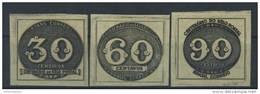 BRAZIL # 609~11  -  First Centenary Of The Postage Stamp 3v  - 1943 - Brazilië