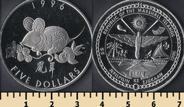Marshall Islands 5 Dollars 1996 - Islas Marshall