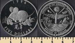 Marshall Islands 5 Dollars 1996 - Marshall Islands
