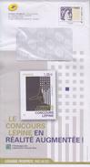 = Enveloppe Entier Monde 250g Catalogue Phil@poste Mars-Mai 2017 Le Concours Lépine En Réalité Augmentée - Postal Stamped Stationery
