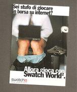 SWATCH WORLD  CARTOLINA CITRUS 0658 - Publicidad