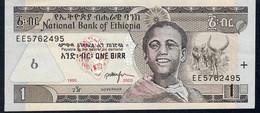 ETHIOPIA P46c 1 BIRR 1995 / 2003   AUNC. - Ethiopie