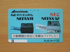 Japon Japan Free Front Bar, Balken Phonecard - 110-2461 / NEC - Japan