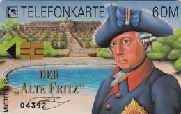 Germany, Card Number 603, Der Alte Fritz -- Muster 12.92 -- 04392 - Göde, 2 Scans.