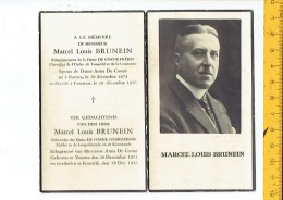 Dp 2433 MARCEL BRUNEIN VEURNE 1874 - KORTRIJK 1936 - Santini