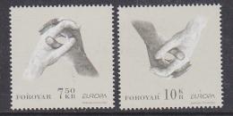 Europa Cept 2006 Faroe Islands  2v ** Mnh (29804) - 2006