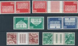 Switzerland Inverted (Tete-Beche) 6 X Pairs All MNH Post Office Fresh