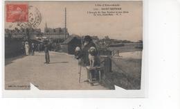 Côte Emeraude - SAINT-SERVAN - L'Aveugle Du Pont Roulant Et Son Chien (carte Abimée, Coupée Dans Le Bas 2 Endroits) - France