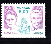 Monaco 1998 Mi Nr 2402 ; Pierre Und Marie Curie - Ongebruikt
