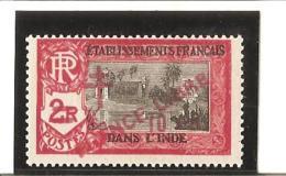 INDE Timbres De 1929 Avec Surcharge  Carmin  N°  205 * - India (1892-1954)