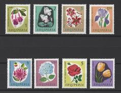 ALBANIE . YT 778/785 Neuf ** Fleurs Diverses 1965 - Albania