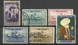 Turkey; 1941 395th Anniv. Of The Death Of Barbaros Hayrettin (Complete Set) - 1921-... Republic