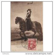 PTRTP0709CPA-LFTMD4571TMU.Tarjeta Postal De España..Pintura.La Reina MARIA LUISA,CABALLO.GOYA.( Museo De EL  PRADO).CCLD - Museos